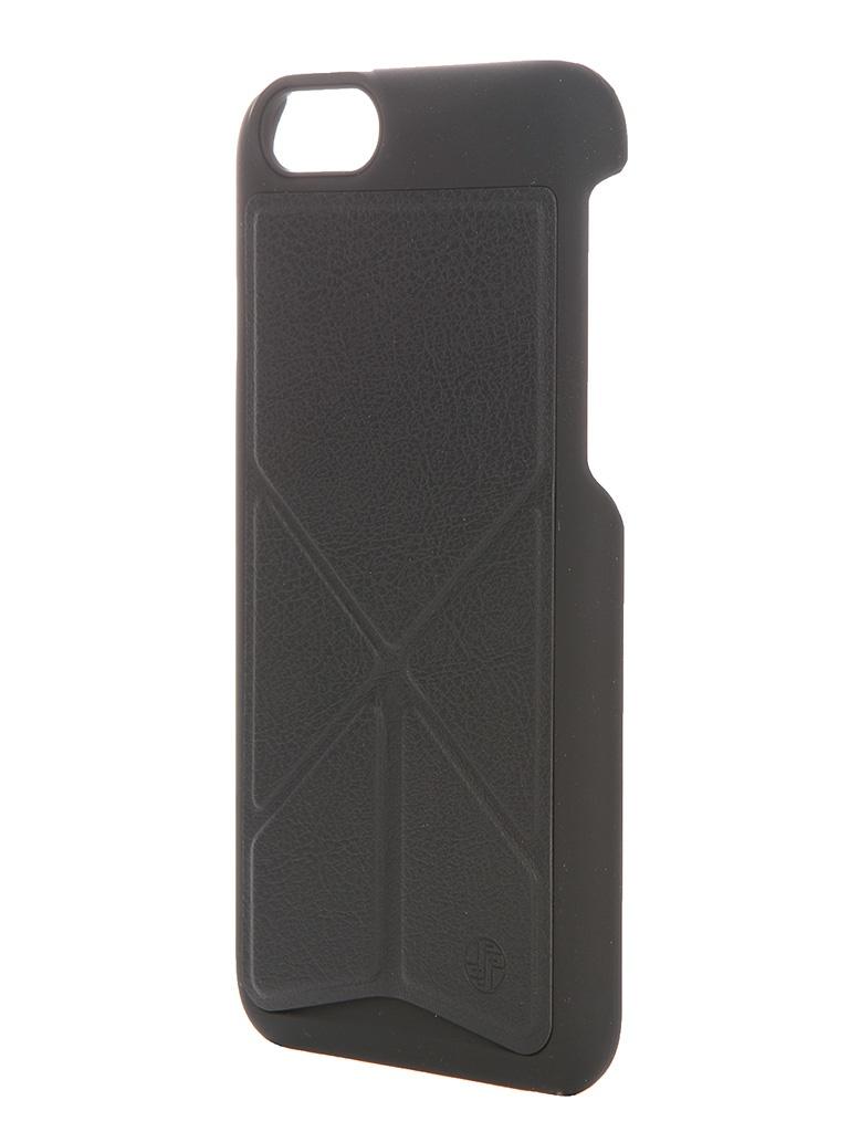 Аксессуар Чехол-подставка DRACO Tigris 6 Shell Stand Case для iPhone 6 Black TI60LP4-BK