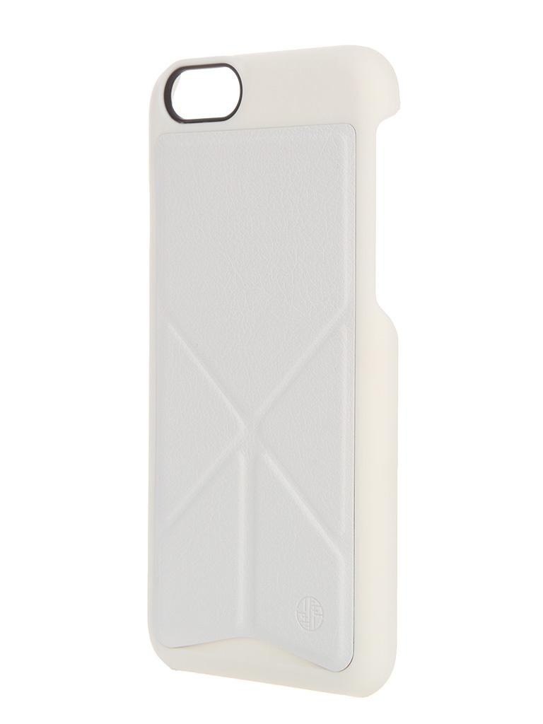 Аксессуар Чехол-подставка DRACO Tigris 6 Shell Stand Case для iPhone 6 White TI60LP4-WH