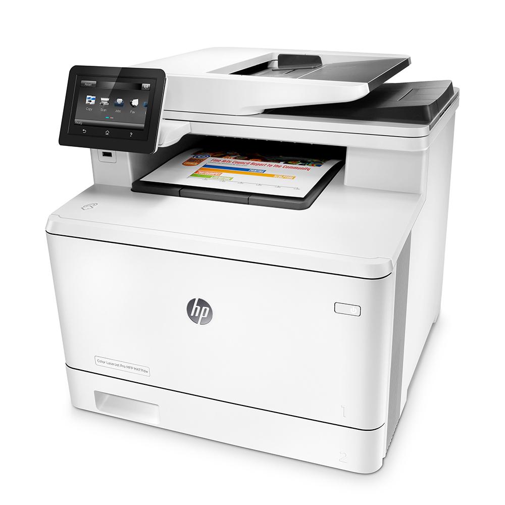 МФУ HP Color LaserJet Pro MFP M477fnw цена