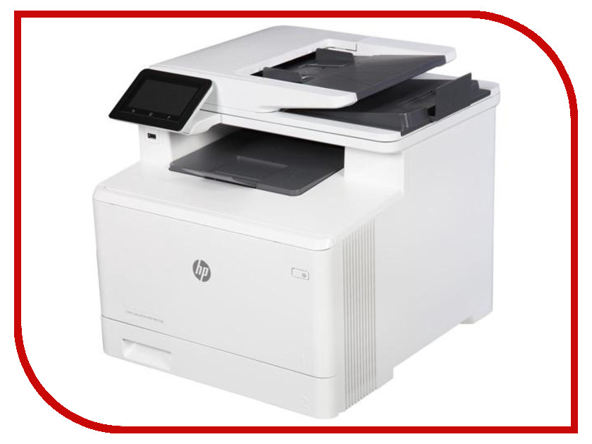 МФУ HP Color LaserJet Pro MFP M477fdn hewlett packard hp color laserjet pro mfp m277n цветной лазерный мфу