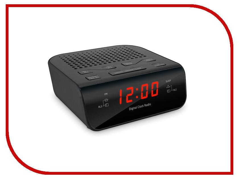Часы настольные teXet TRC-309 Black