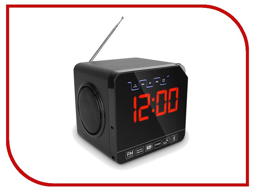 Часы настольные teXet TRC-314 Black<br>