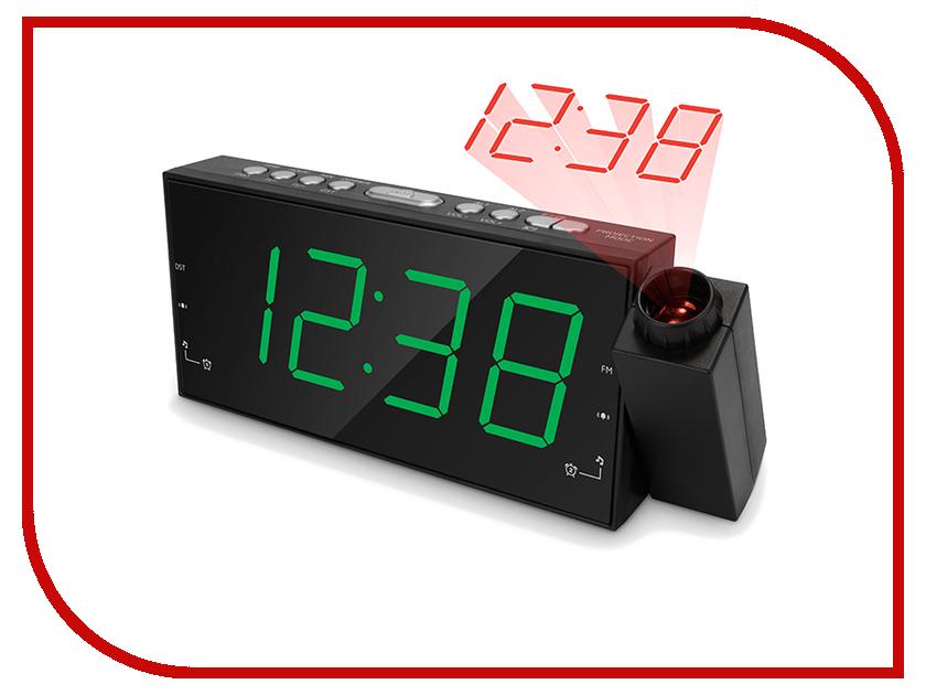 Часы настольные teXet TRC-311 Black