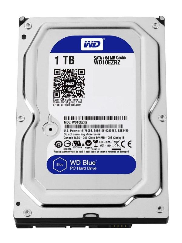 Жесткий диск Western Digital 1Tb WD10EZRZ цена