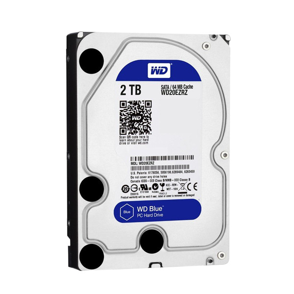 Жесткий диск Western Digital 2Tb WD20EZRZ — WD20EZRZ