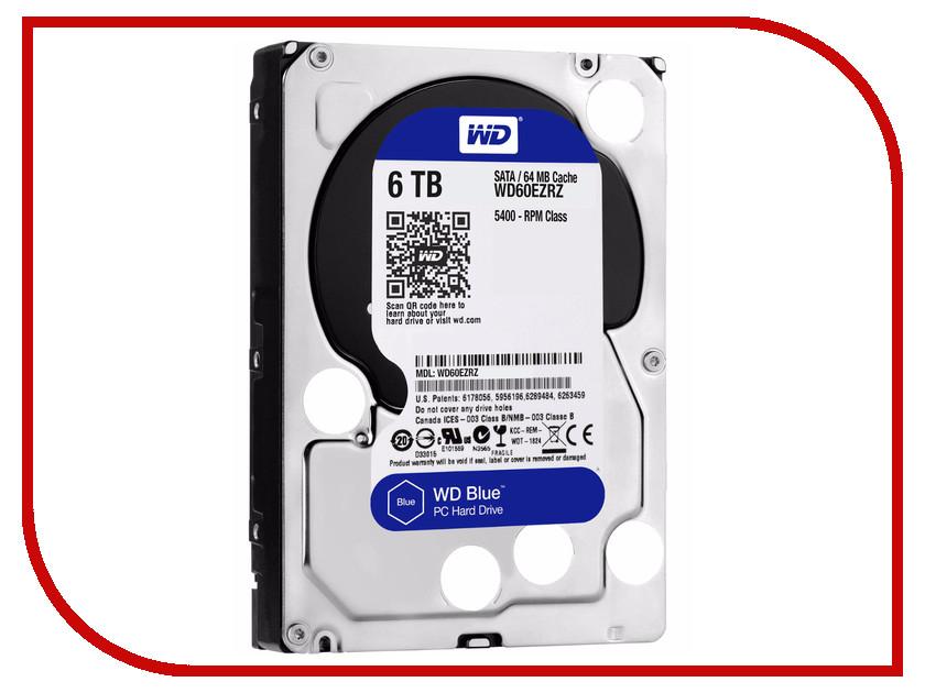 Жесткий диск 6Tb - Western Digital WD60EZRZ