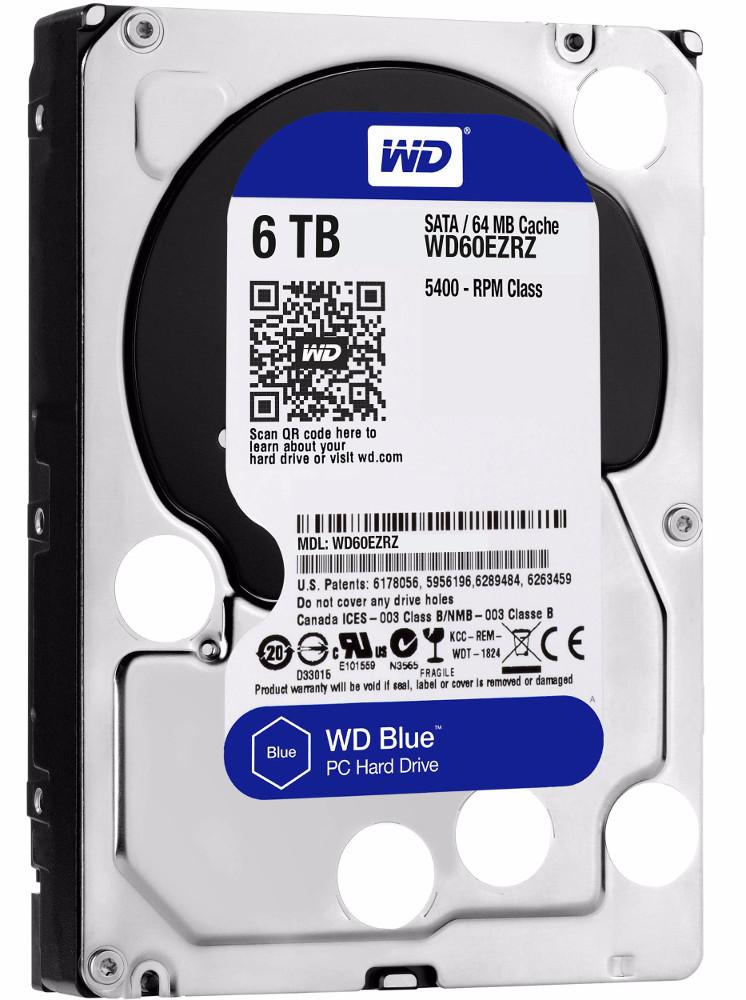 Жесткий диск Western Digital 6Tb WD60EZRZ