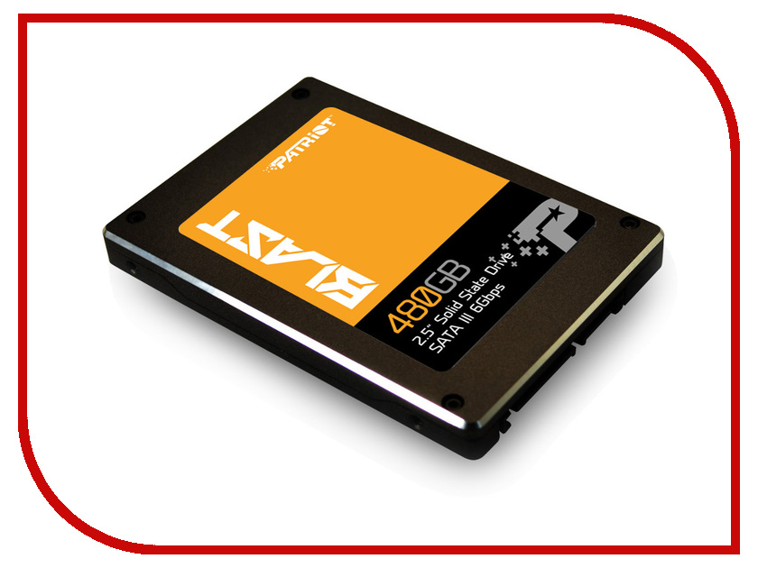 Жесткий диск 480Gb - Patriot Memory PBT480GS25SSDR<br>