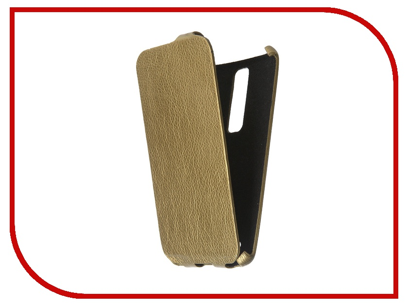 Аксессуар Чехол Cojess for ASUS ZenFone 2 551ML Ultra Slim Экокожа Флотер Gold<br>