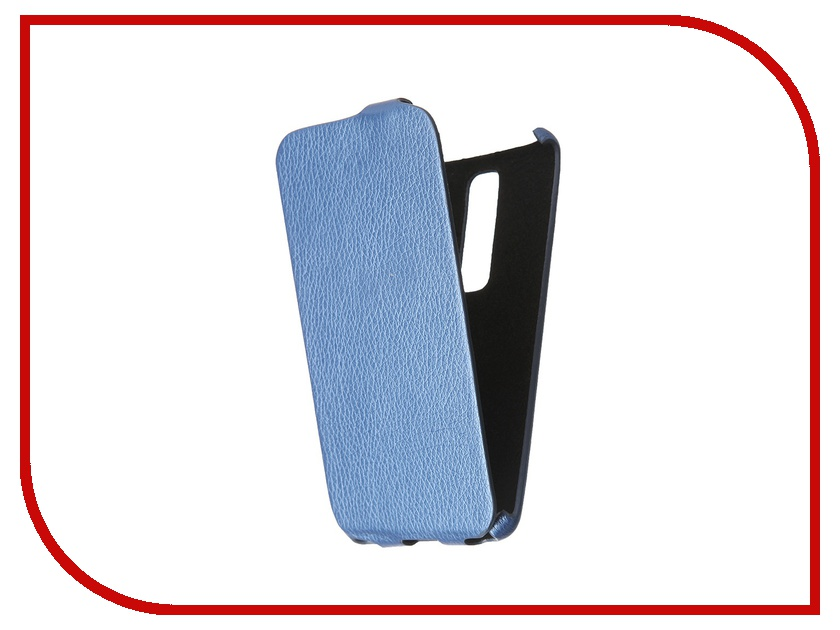 Аксессуар Чехол Cojess for ASUS ZenFone 2 551ML Ultra Slim Экокожа Флотер Blue