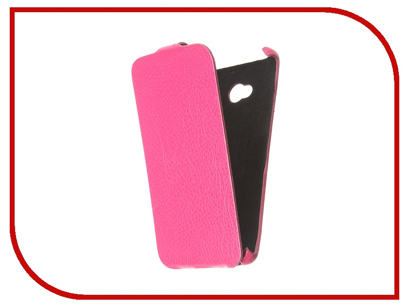 Аксессуар Чехол Cojess for Microsoft Lumia 640 Ultra Slim Экокожа Флотер Fuchsia
