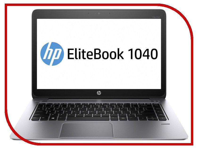 Ноутбук HP EliteBook Folio 1040 G2 L8T48EA Intel Core i5-5300U 2.3 GHz/8192Mb/256Gb SSD/Intel HD Graphics/3G/Wi-Fi/Bluetooth/Cam/14.0/1600x900/Windows 7 64-bit<br>