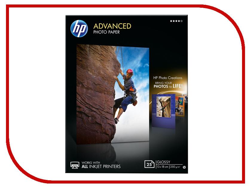 Фотобумага HP Q8696A Глянцевая 250g/m2 25 листов<br>