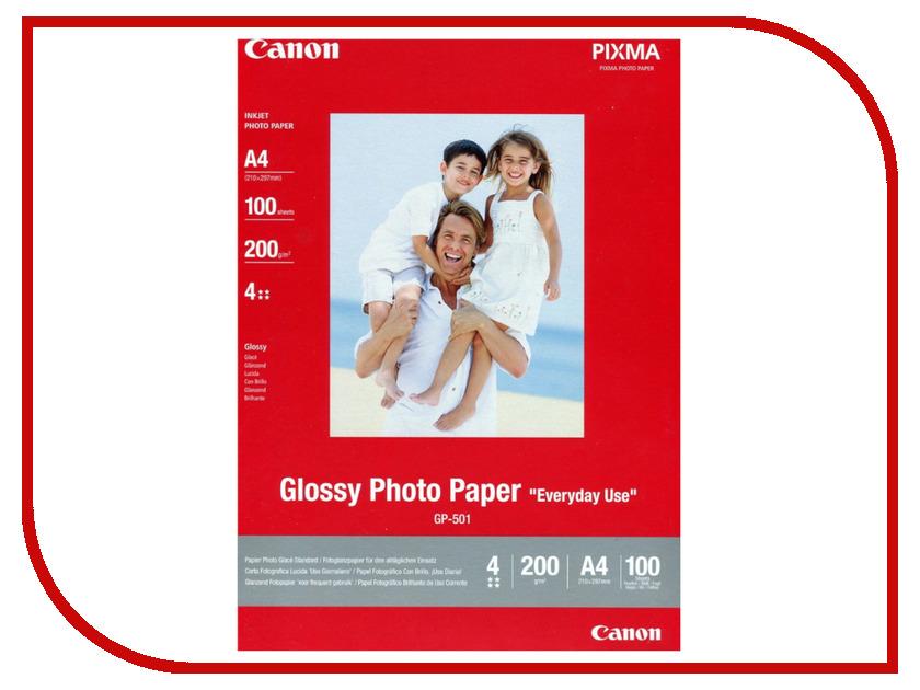 Фотобумага Canon GP-501 Глянцевая 170g/m2 A4 100 листов 0775B001 st luce потолочный светодиодный светильник st luce sl928 502 02