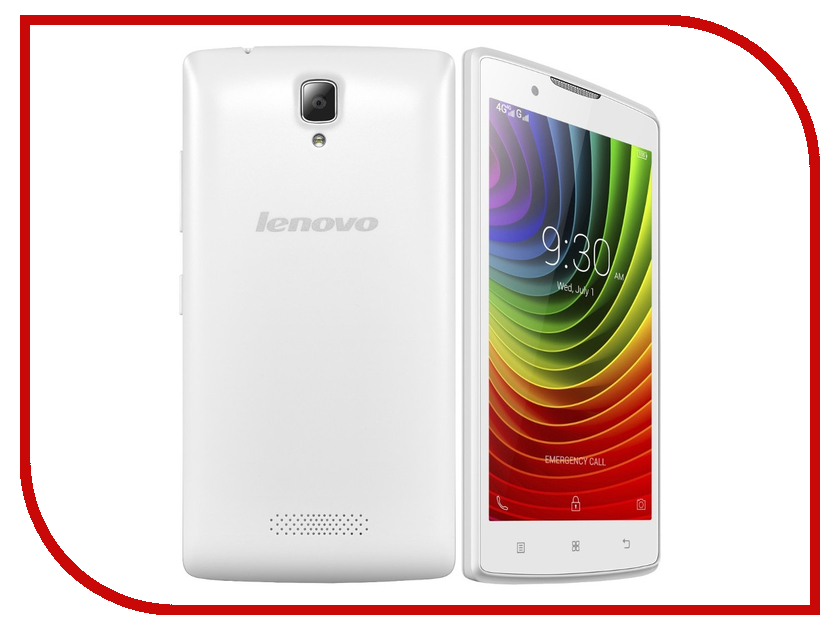 Сотовый телефон Lenovo A2010 White<br>