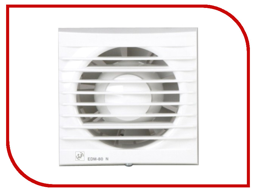 Вытяжной вентилятор Soler &amp; Palau EDM-80 N White<br>