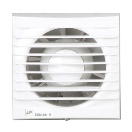 Вытяжной вентилятор Soler & Palau EDM-80 N White