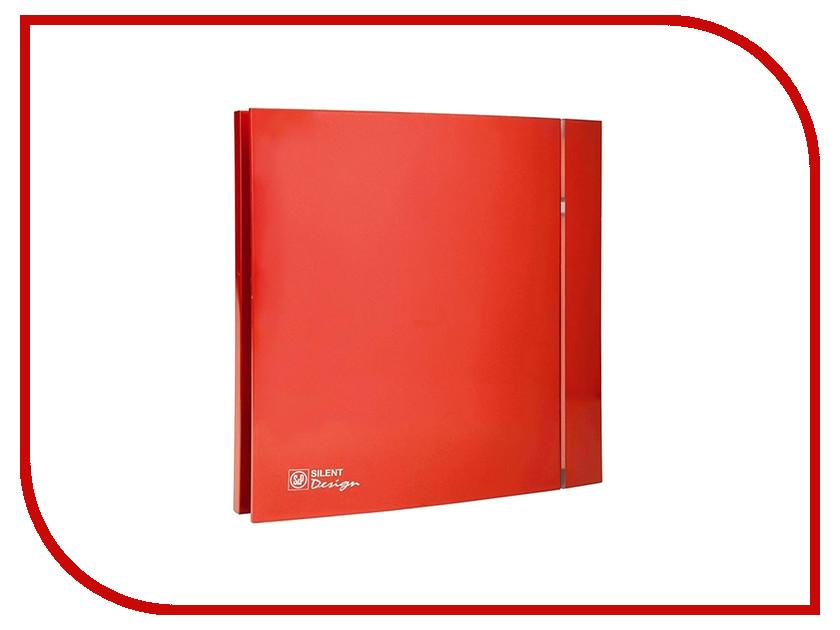 Вытяжной вентилятор Soler &amp; Palau Silent-200 CZ Red Design 4С<br>