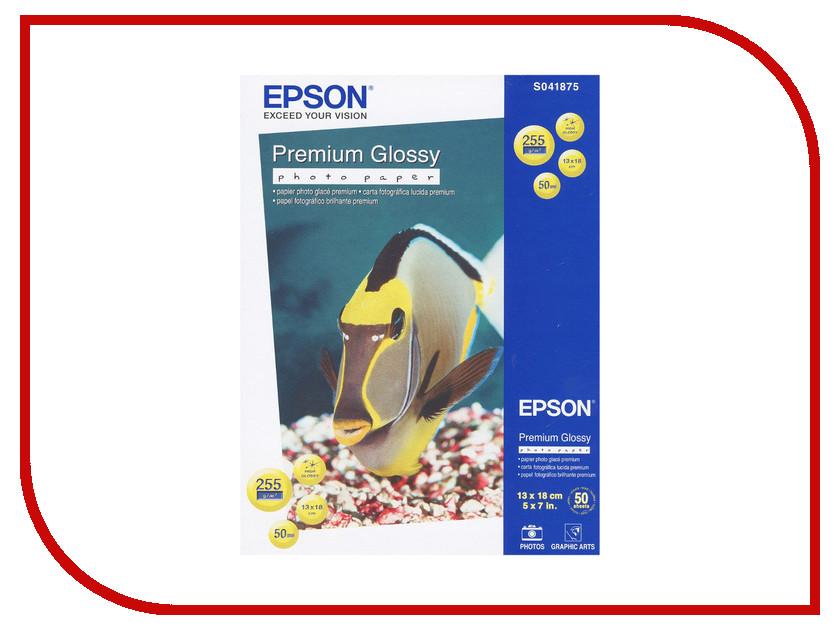 Фотобумага Epson C13S041875 Глянцевая 255g/m2 50 листов