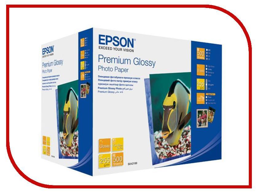 Фотобумага Epson Premium C13S042199 Глянцевая 255g/m2 500 листов<br>