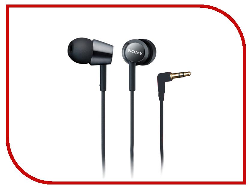 Наушники Sony MDR-EX150 Black<br>