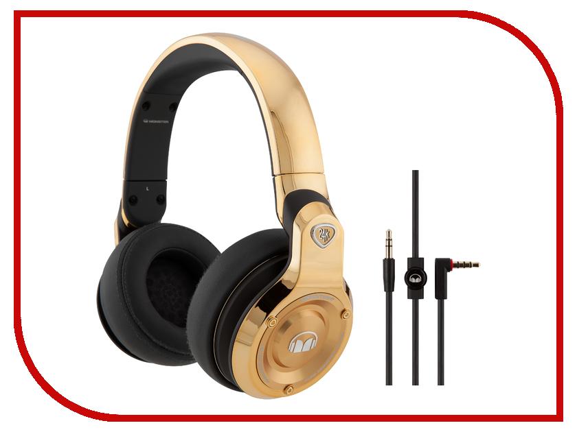 Гарнитура Monster 24K DJ Over-Ear monster dna pro 2 0 over ear white 137022 00