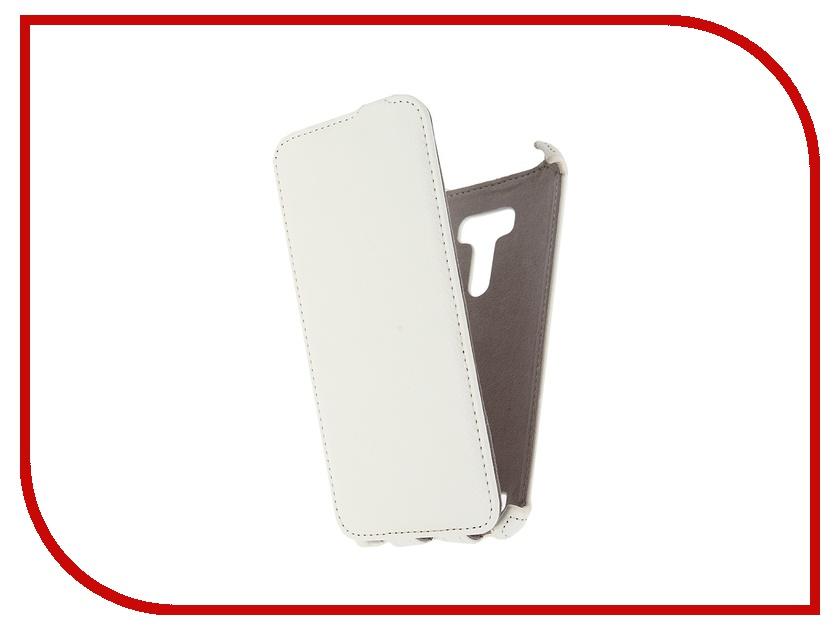 Аксессуар Чехол ASUS ZenFone Selfie Activ Flip Leather White 50815<br>