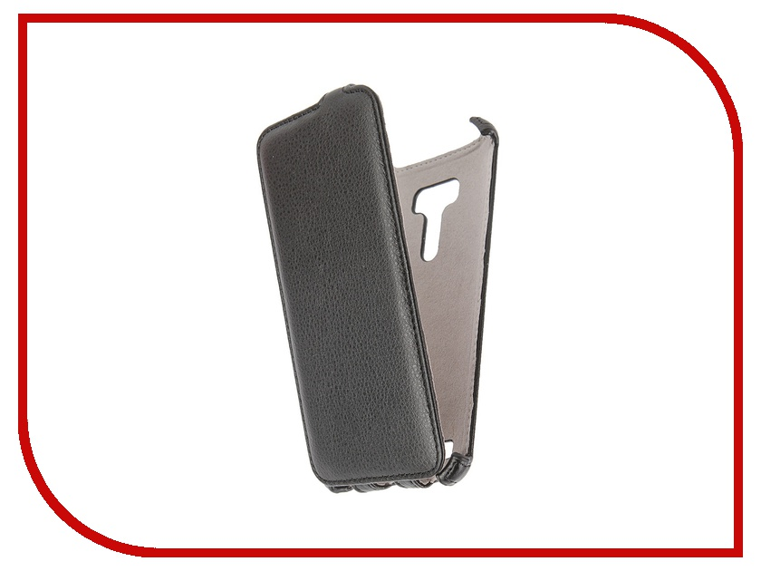 Аксессуар Чехол ASUS ZenFone Selfie Activ Flip Leather Black 50711<br>