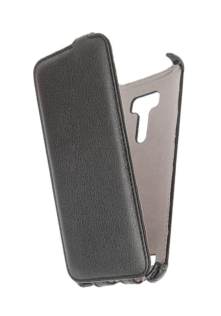 Аксессуар Чехол ASUS ZenFone Selfie Activ Flip Leather Black 50711<br>