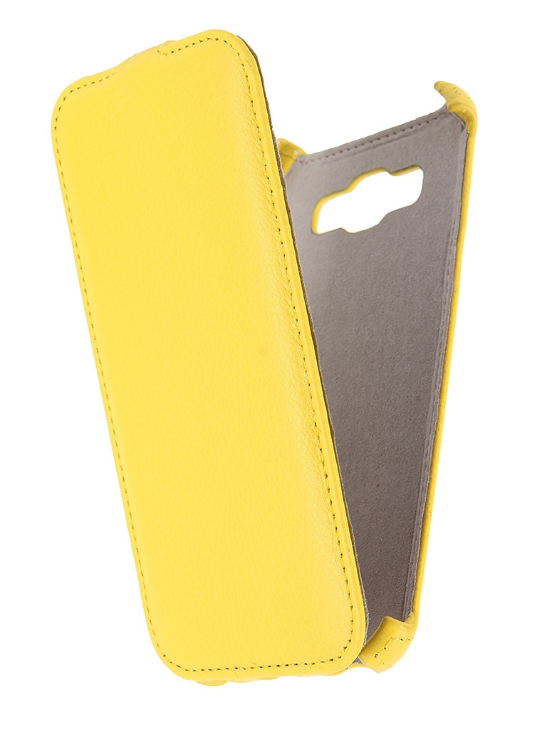 Аксессуар Чехол Samsung Galaxy A8 Activ Flip Leather Yellow 50790<br>