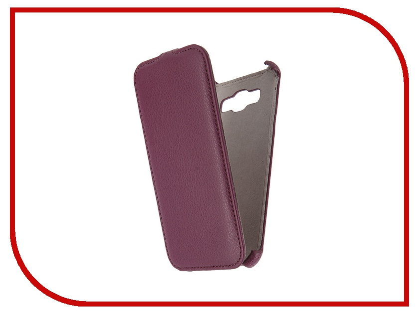 Аксессуар Чехол Samsung Galaxy A8 Activ Flip Leather Violet 50788<br>