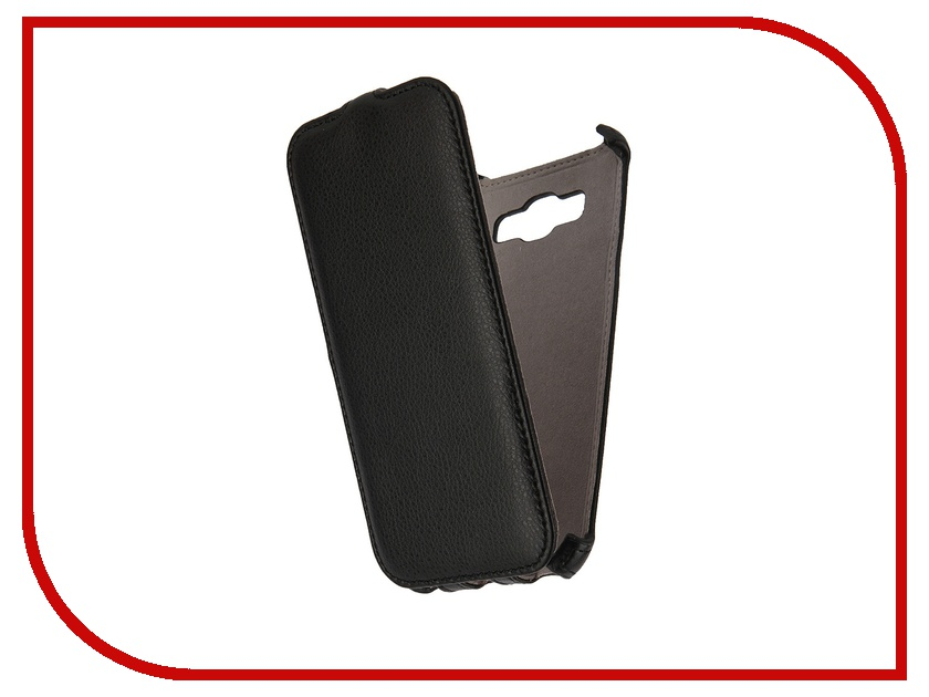 Аксессуар Чехол Samsung Galaxy A8 Activ Flip Leather Black 50704