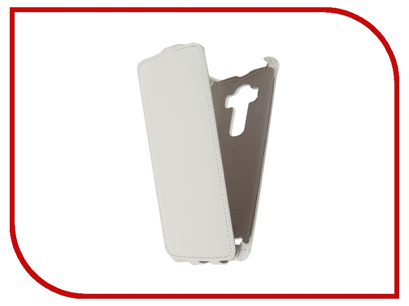 Аксессуар Чехол LG G4 Activ Flip Leather White 51331<br>