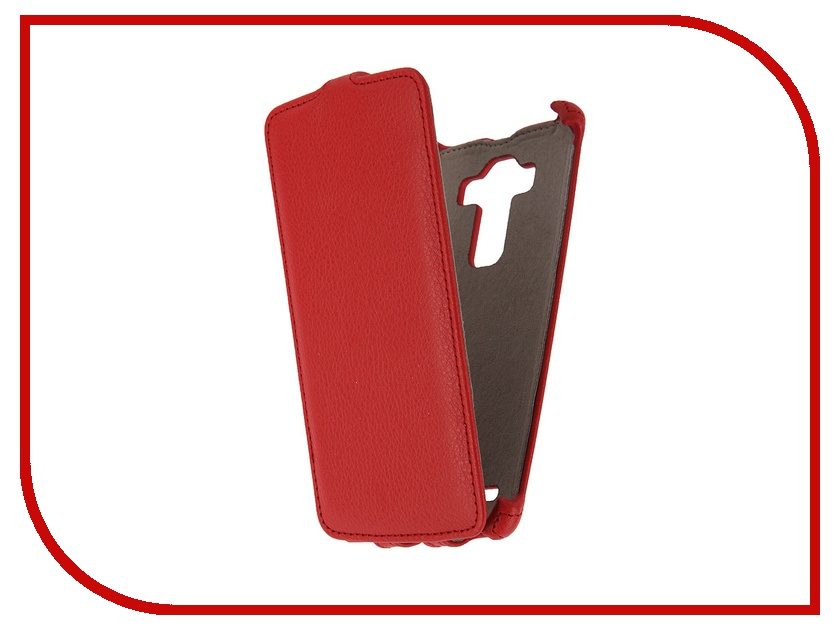 Аксессуар Чехол LG G4 Activ Flip Leather Red 51330<br>