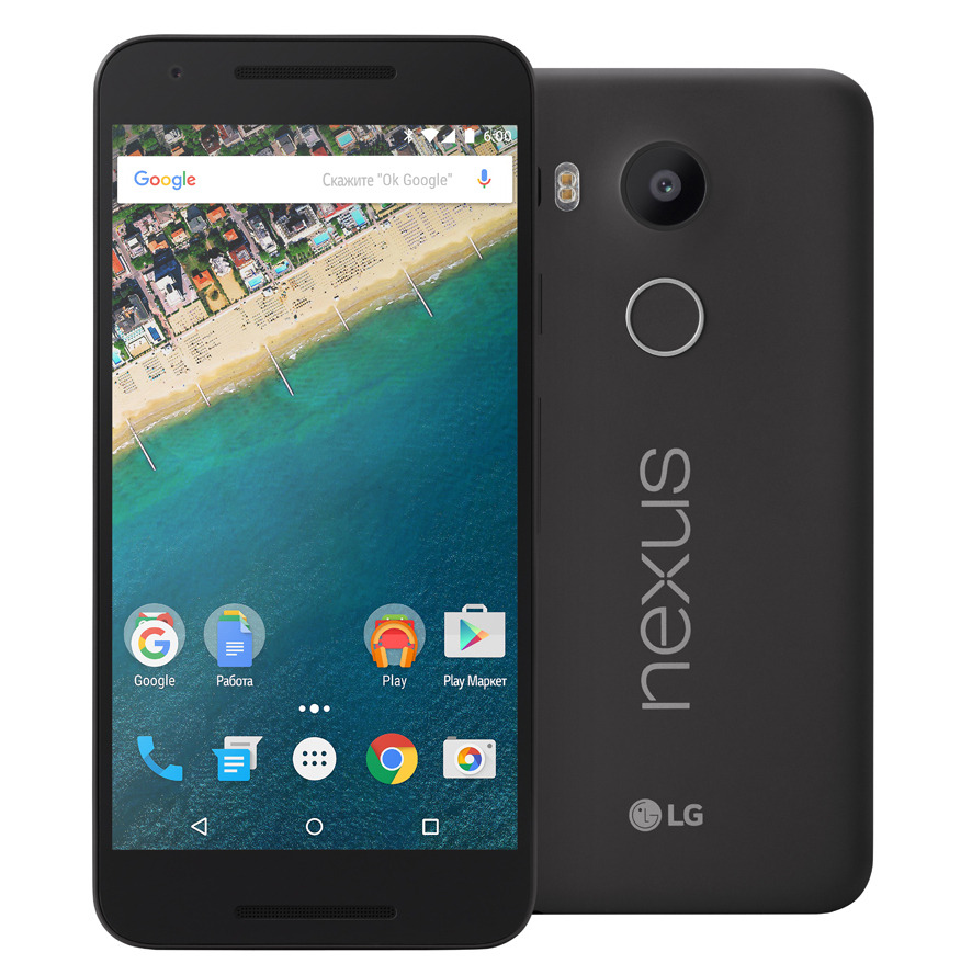 Сотовый телефон LG H791 Nexus 5X 16Gb Black