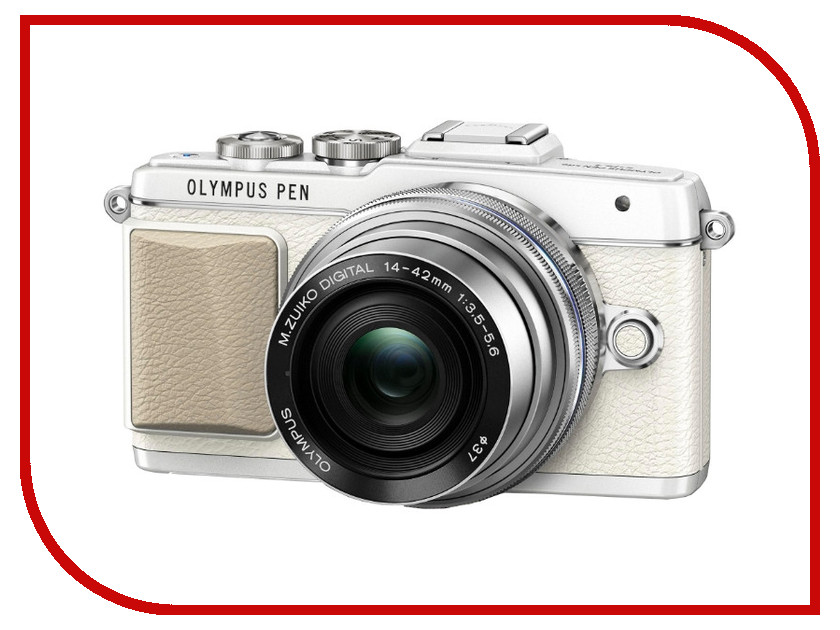 Фотоаппарат Olympus PEN E-PL7 Kit 14-42 mm EZ White-Silver<br>