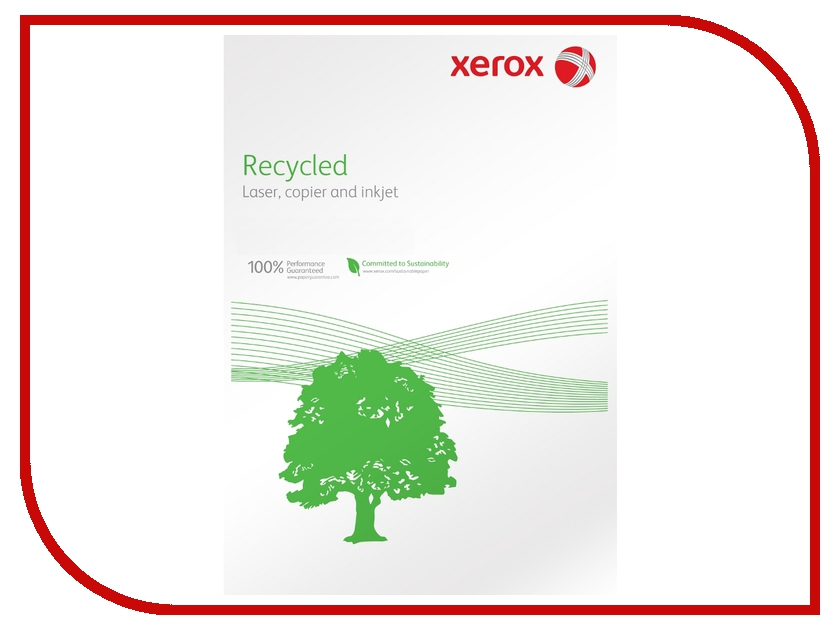 Бумага XEROX Recycled А4 003R91165 80гр/м2 500 листов<br>