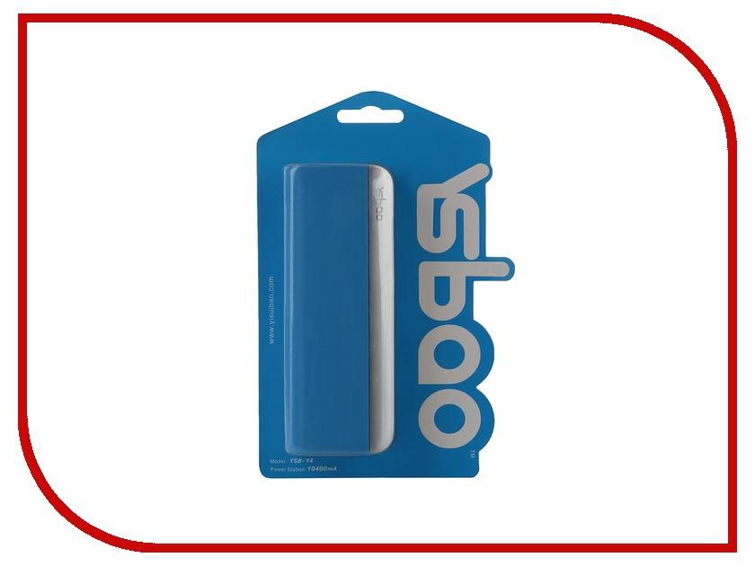 Аккумулятор Ysbao YSB-Y4 10400 mAh Blue 45569<br>