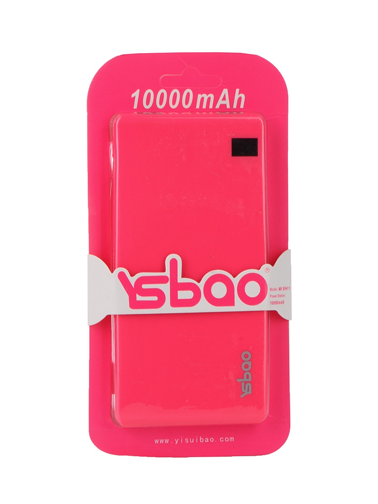 Аккумулятор YSbao MI SHI 1 10000 mAh Pink 52210