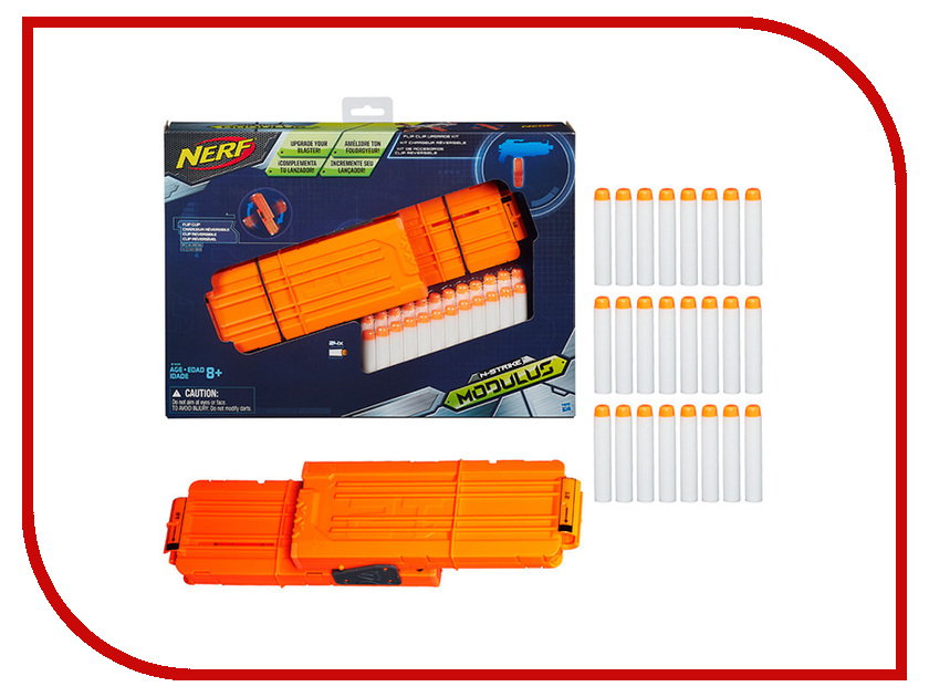 Игрушка Hasbro NERF Запасливый Боец B1534 hasbro nerf b1534 нерф модулус сет1 запасливый боец
