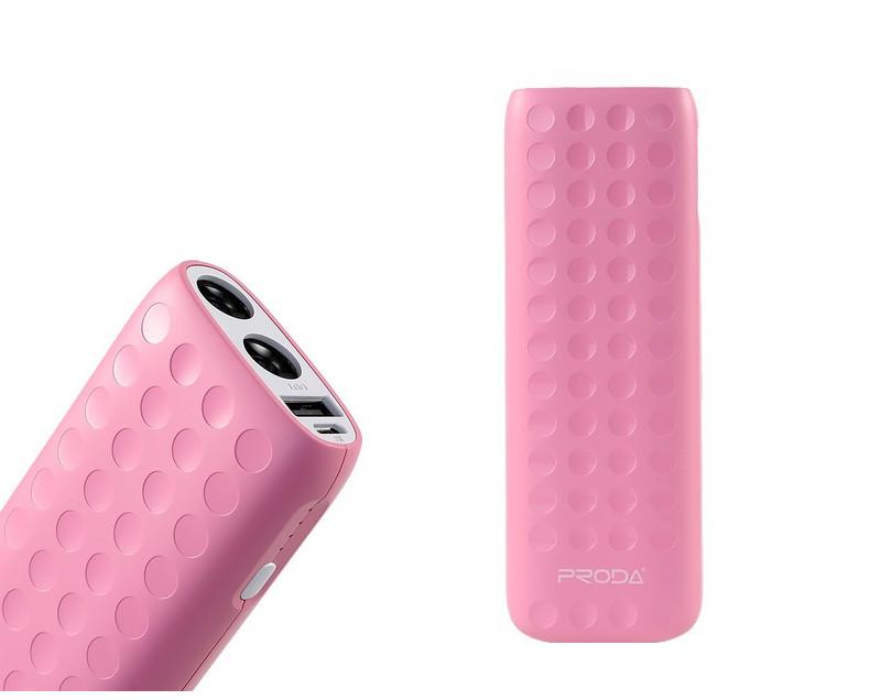 Аккумулятор Remax Proda Lovely series 12000 mAh Pink 52181<br>