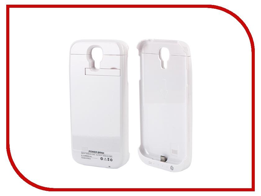 Аксессуар Чехол-аккумулятор Samsung i9500 4500 mAh Activ White 32717<br>