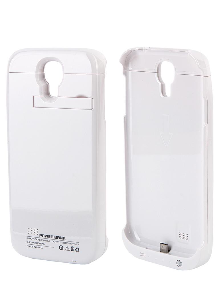 Аксессуар Чехол-аккумулятор Samsung i9500 4500 mAh Activ White 32717
