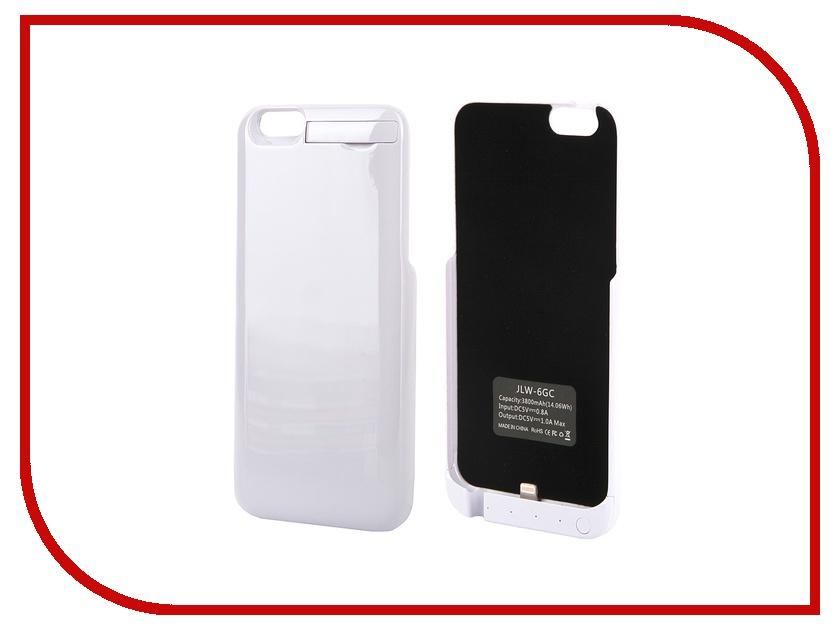 Аксессуар Чехол-аккумулятор Activ 3800 mAh (6GC) для APPLE iPhone 6 White 49051