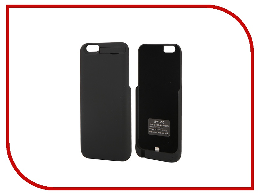 Аксессуар Чехол-аккумулятор Activ 3800 mAh (6GC) для APPLE iPhone 6 Black 49049