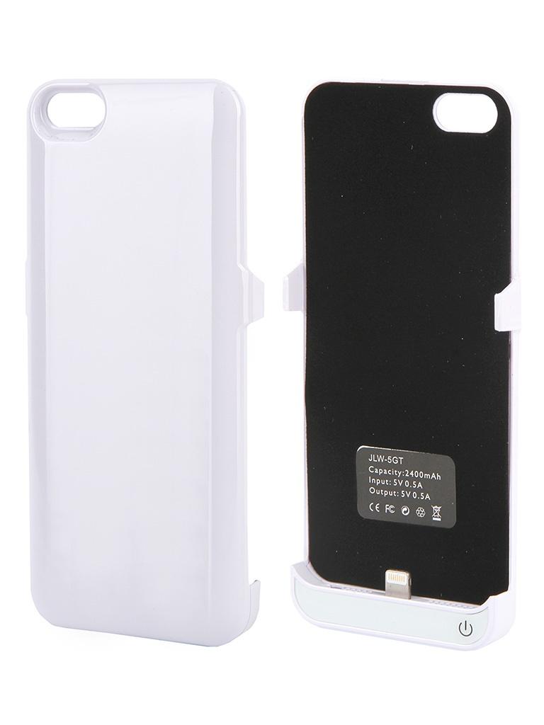 Аккумулятор Чехол-аккумулятор Activ 2400 mAh (5GT) для Apple iPhone 5 White 34940