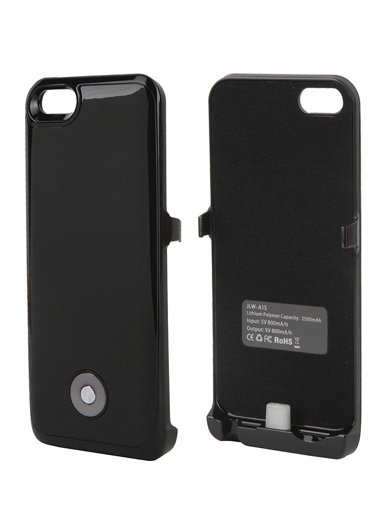 Аккумулятор Чехол-аккумулятор Activ 2500 mAh (A1S) для Apple iPhone 5 Black 49030