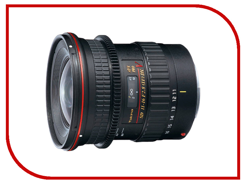 Объектив Tokina Nikon 11-16 mm F/2.8 AT-X 116 Pro DX V
