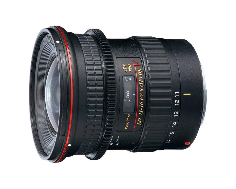 Объектив Tokina Nikon 11-16 mm F/2.8 AT-X 116 Pro DX V объектив для зеркального фотоаппарата canon tokina at x 11 20 f2 8 pro dx c af
