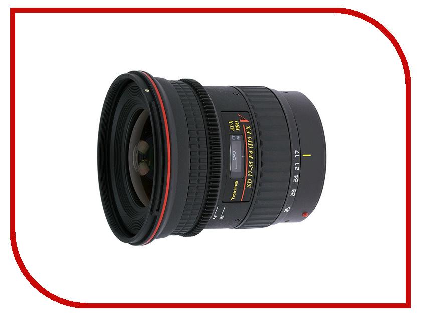 Объектив Tokina Canon 17-35 mm F/4.0 AT-X Pro FX V<br>